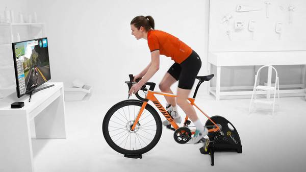 roue arriere velo home trainer